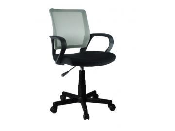 adra kancelárska stolička sivá