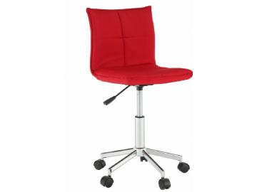craig kancelárska stolička červená