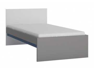 moderna jednolozkova postel LASER TYP LASZ01modra