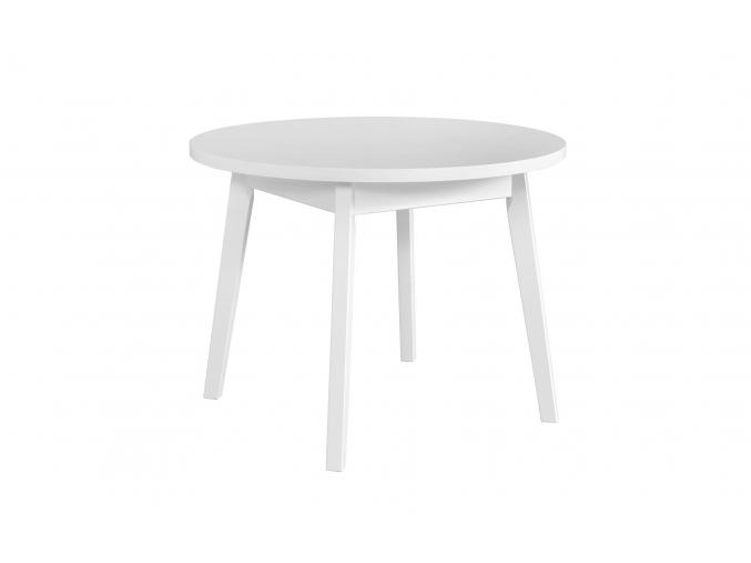 moderny biely okruhyl jedalensky stol OSLO 3