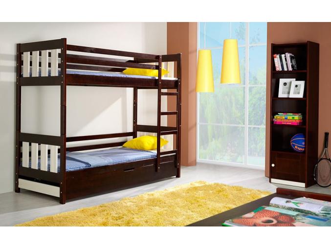 Detská poschodová posteľ Kacper