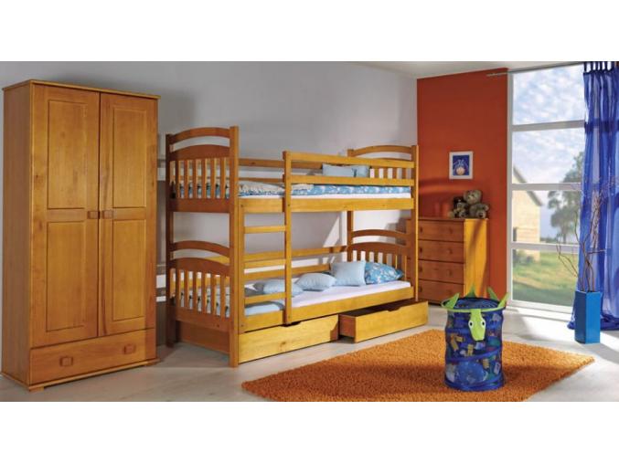 Detská poschodová posteľ Irek