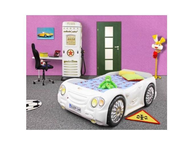 Detská posteľ Auto Bugi biele