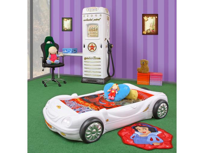 detska autopostel BOBO biela 2