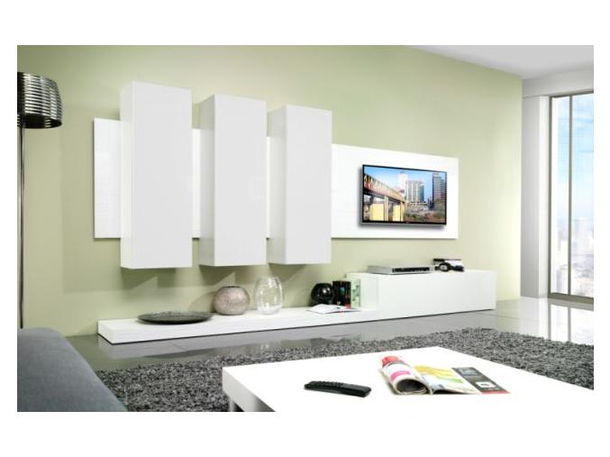 Obývacia stena LIFE biela
