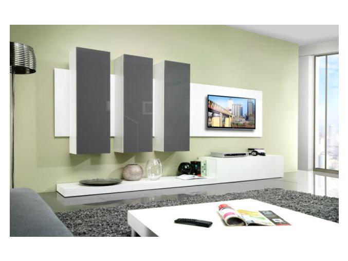 Obývacia stena LIFE sivá
