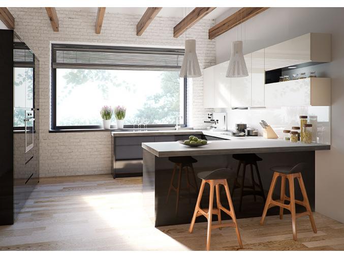 moderna rohova kuchynska linka NINA
