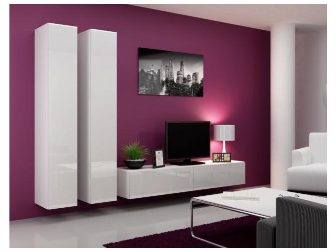 Obývacia stena Vigo IVA biela-biela