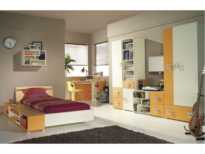 Detská izba Labirynt oranžová