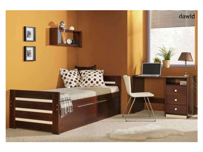 Detská drevená posteľ Dawid