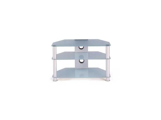 TV stolík ATV-3308 | CLR mliečne sklo