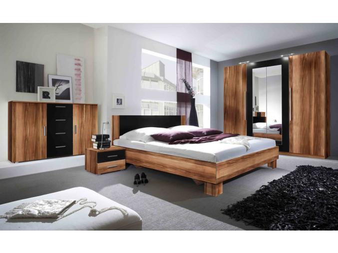 Spálňa Vera  (orech červený/ čierny )   229SDH