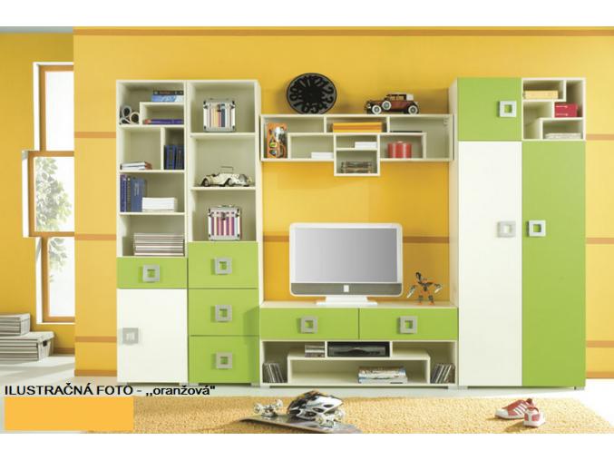 Detská izba Labirynt E | oranžová