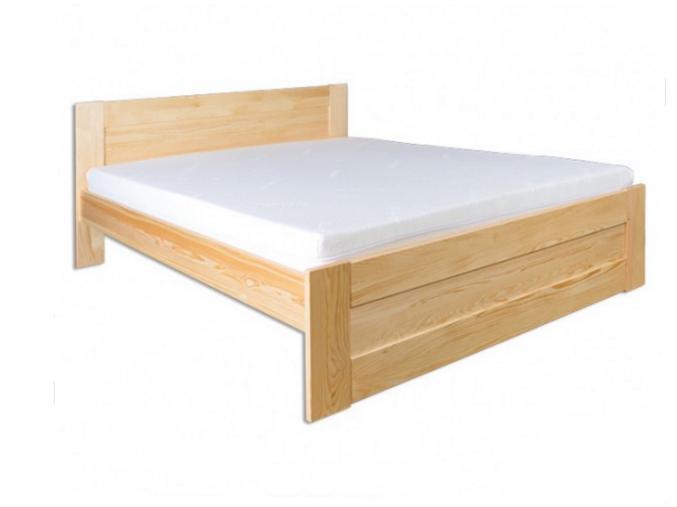 Manželská posteľ - masív LK102   140cm borovica