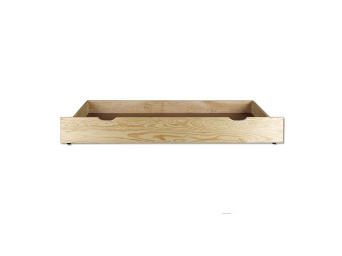 Úložný box pod posteľ - masív LK152 | borovica