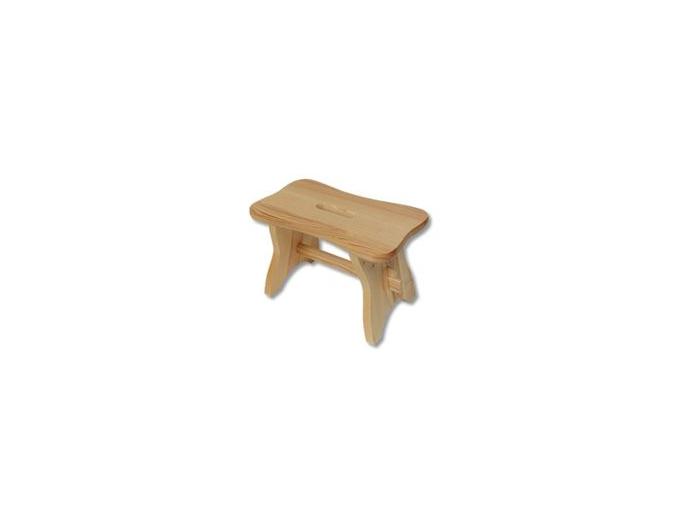 Stolička - masív KT256 | borovica