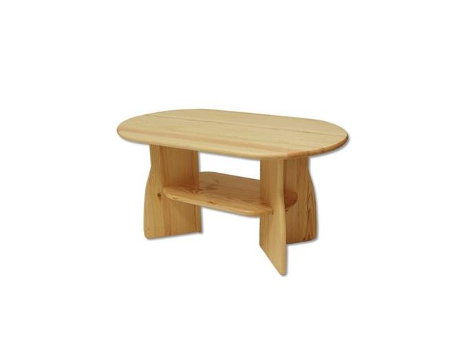 Konferenčný stolík - masív ST112   borovica
