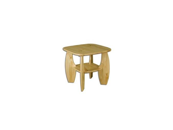 Konferenčný stolík - masív ST115 | borovica