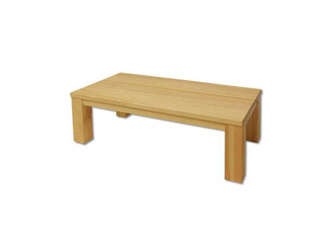 Konferenčný stolík - masív ST116   borovica