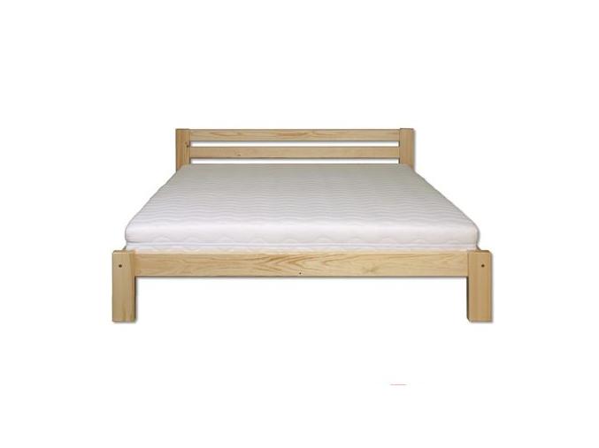 Manželská posteľ - masív LK105   180cm borovica