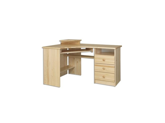 Písací stôl - masív BR107 | borovica