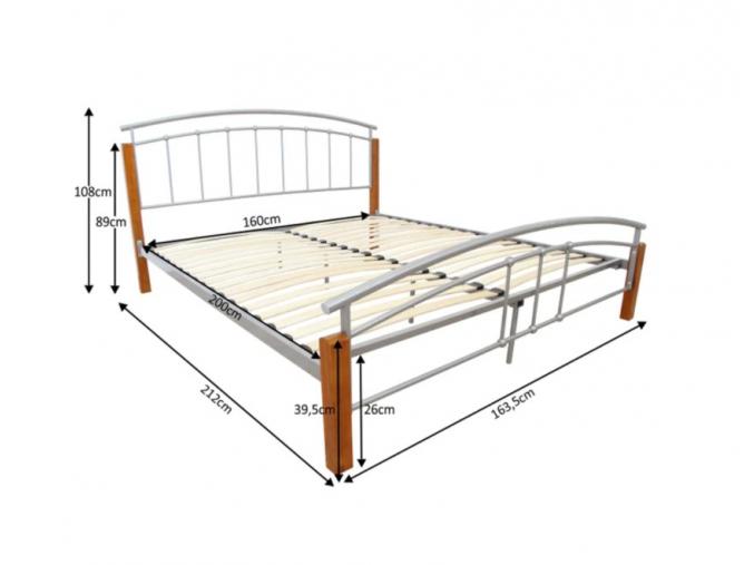 Manželská posteľ MIRELA