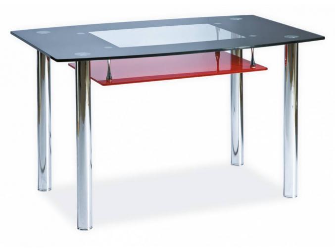 Jedálenský stôl TWIST A červený