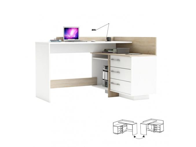 Rohový PC stôl TALE