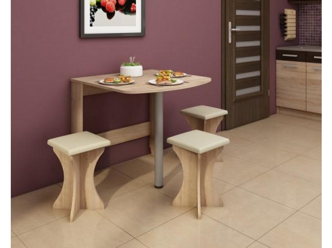 Skladací jedálenský stôl EXPERT 6