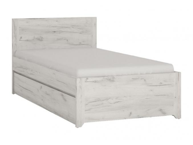 moderna jednolozkova postel do detskej izby ANGEL TYP 90