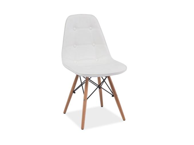 Stolička AXEL / biela