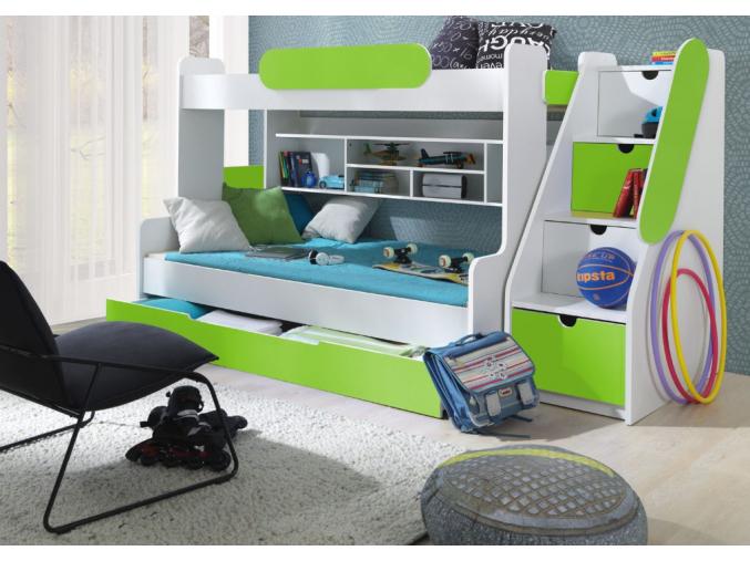 Detská poschodová posteľ Segan 1