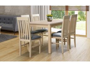 MAX 5 NILO 5 moderny dreveny jedalensky set so stolickami detailna fotografia