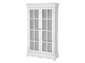klasicka biela vitrina LATINA LA01