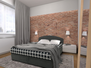 manzelska postel s uloznym priestorom LUSI celocalunena