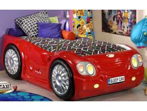 Detská posteľ Auto Bugi červené