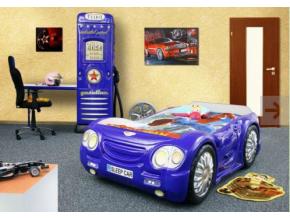 Detská posteľ Auto Bugi modré