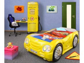 Detská posteľ Auto Bugi žlté