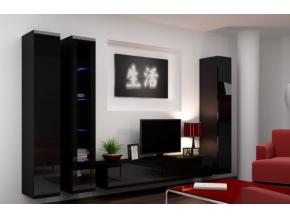 Obývacia stena Vigo IIA čierna