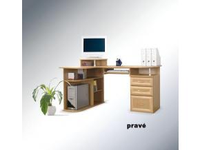 Rohový písací stolík Gufi
