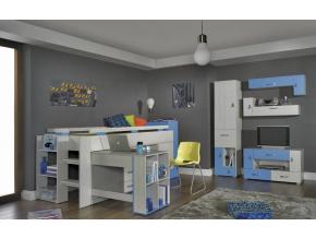 Detská izba Komi B modrá