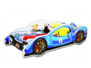 Detská posteľ Auto Mini Max modré