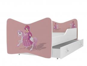 oblubena detska obrazkova postel KEVIN vzor princezna 09