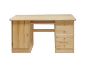 Písací stôl - masív BR115 | borovica