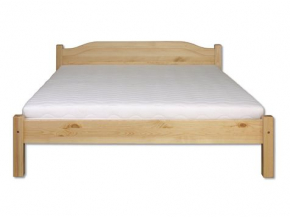 Manželská posteľ - masív LK106   140cm borovica