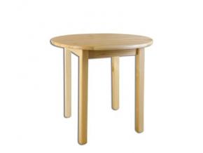 Stôl - masív ST105 | 80cm borovica