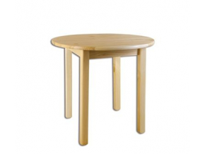 Stôl - masív ST105 | 110cm borovica