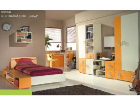 Detská izba Labirynt A | zelená