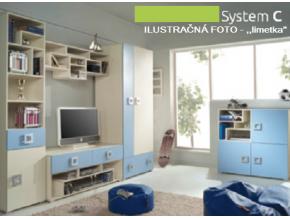 Detská izba Labirynt C | zelená