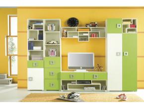 Detská izba Labirynt E | zelená